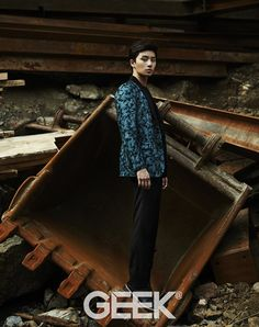 Park Seo Joon - Geek Magazine August Issue 13