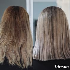 BEFORE & AFTER by Raluca Racovita  LET THE DREAM COME TRUE ❤ Tratamente par / Tehnica Balayage / Nails Art / Make-up / Best Products / Cosmetics/Extensii / #1dream #coafor #balayage #expertbalayage #goldwell  #blondehair #blonde #hairstyle #beauty #hairdresser #haircolor #hairdye #hairlove #salonlife #hairstudio #instahair  #haircolor #olaplex #mediumhair #hair #highlights  #haircut #suvite #beforeandafter Nordului Herastrau  www.1dream.ro 0728580314 ( sau mesaj privat )