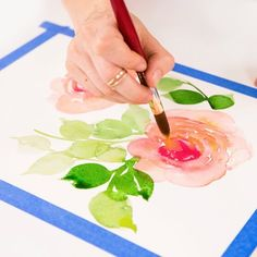 Watercolor Painting Online Class