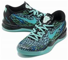 http://www.asneakers4u.com Nike Kobe 8 System Basketball Shoe Snake Jade/Black0