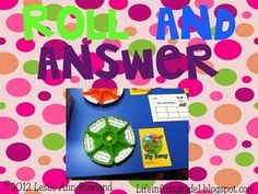 Free:  Roll and Answer: A Literacy Center