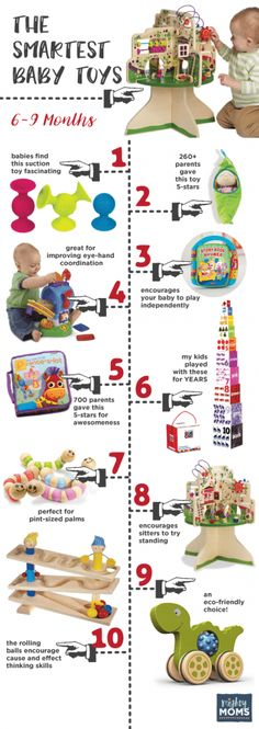 Smartest Baby Toys 6-9 Months ~ MightyMoms.club