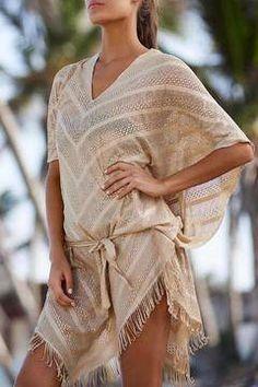 d722c21764661 Shoptiques Products: Oro Riviera Poncho Pilyq, Summer Kimono, Beach Cover  Ups, Resort
