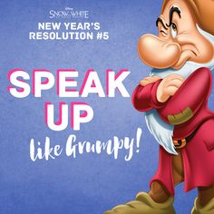 Disney's Snow White and the Seven Dwarfs New Year's Resolution #5