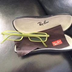 ebefc8c11f NWOT/B Ray Ban green prescription glasses frame Brand new without tag/box  Ray
