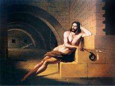 Saint John the Baptist in Prison by Victor Meirelles (1852)