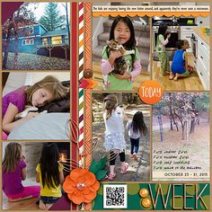 Week 43: Moving Time! {right} My Life Templates 11 by Scrapping with Liz Everyday Life October '15 by Juno Designs