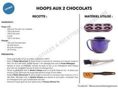 Hoops aux 2 Chocolats Tupperware