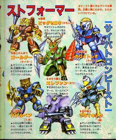 Transformers Visual Works (Studio Ox Greatest Japanese TF Art Book) is out! - Page 41