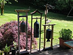 Zounds A Garden Bell Kevin Caron Stuff to Try Pinterest