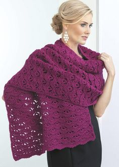 In Shawls You'll Love from Leisure Arts, beautiful stitch patterns make 13 shawls great additions to your wardrobe or wonderful choices for prayer shawl ministries or friendship gifts. Whether you pre