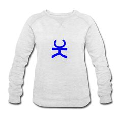 #design #chepakko #ominoK blue #women #sweatshirt #casual