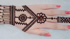 Back Hand Mehndi Designs, Arabic Mehndi Designs, Mehndi Patterns, Henna Designs, Mehndi Tattoo, Mehndi Art, Mehendi, Mehndi Brides, Henna Artist