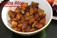 Sukha Aloo is the most famous Indian Fasting Recipe (Vrat / Virat), can be easily made without adding onion and garlic. Aloo Recipes, Vegetable Recipes, Kiwi, Spice Things Up, Indian Food Recipes, Sweet Potato, Garlic, Spices, Vegetarian