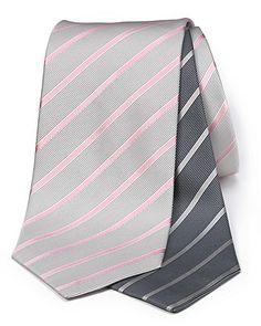 $67.50 Armani Collezioni Silk Stripe Tie | Bloomingdale's