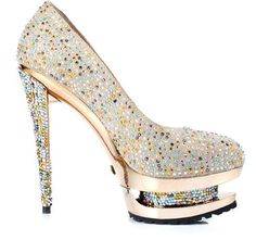 crystal high-heeled ultra-high womens shoes