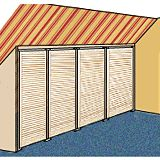 Bauanleitung für einen geräumigen Dachschrägenschrank