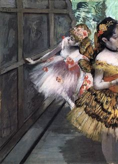 DEGAS, EdgarDancers in the Wingsc. 1880Pastel and tempera on paper, 69 x 50cmNorton Simon Museum of Art, Pasadena