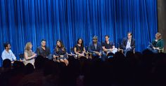 Jane The Virgin executive producers Ben Silverman and Jenny Snyder Urman, Jaime Camil, Gina Rodriguez, Candice Patton, Jesse L. Martin, with The Flash ep's Greg Berlanti and Andrew Kreisberg, and moderator Natalie Abrams at the 2014 PALEYFEST Fall TV Previews honoring The CW's Jane The Virgin and The Flash  http://www.redcarpetreporttv.com/2014/09/08/recap-from-the-paleyfest-fall-tv-previews-honoring-the-cws-jane-the-virgin-and-the-flash-janethevirgin-theflash-video-trailers/