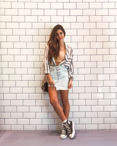 cool and trendy teenager outfits to look fresh 3 – Trendy Fashion Ideas Look Fashion, Urban Fashion, 90s Fashion, Fashion Outfits, Trendy Fashion, Fashion Ideas, Converse Noir, Summer Grunge, Summer Outfits