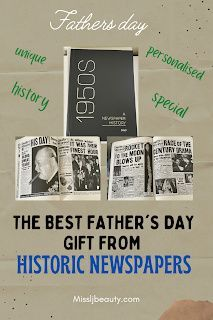 The best father's day gift from Historic Newspapers - MissLJBeauty #fathersday #fathersdaygift #fathersdaygifts #fathersdayweekend #fathersdaycard #fathersdayandeveryday #fathersdaygiftideas #fathersdaypresent #FathersDaySale #fathersdayspecial #fathersdayy#fathersdaymomen#fathersdaygiftidea #fathersdaybook Fathers Day Weekend, Cool Fathers Day Gifts, Fathers Day Sale, Historic Newspapers, Post Board, Just Because Gifts, Milestone Birthdays, Life Is An Adventure, Good Good Father