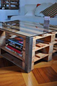 Home Furniture. Surprising Furniture Design Made Out Of Recycled Materials Ideas. Recycled Furniture Decor Pictures comes with Rectangle Coffee Table and Wooden Plank Frames