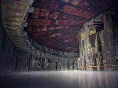 Fábrica de cohetes abandonada, Rusia