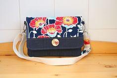 The Begonia Convertible Bag PDF Sewing Pattern Tote Backpack, Messenger Bag, Tote Bag, Purse Wallet, Pouch, Diy Handbag, Basket Bag, Pdf Sewing Patterns, Blue Bags
