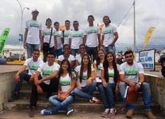 Nuestro equipo de voluntarios listos para iniciar nuestra 3era jornada de #CopaBeraka2017