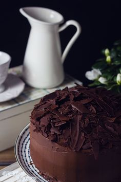 Hot chocolate with banana - Clean Eating Snacks Chocolate Cafe, Hershey Chocolate, Chocolate Cheesecake, Love Chocolate, Homemade Chocolate, Chocolate Desserts, Melting Chocolate, Cake Cookies, Cupcake Cakes