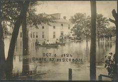 Flooding in Kinston, North Carolina 1924
