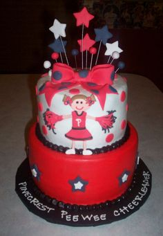 cake.  (not a lover of red icing though)