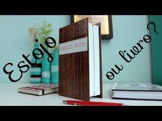 [DIY] Estojo em formato de livro - YouTube