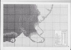 Just Cross Stitch Patterns---PAGE 4 OF 5---BLACK & WHITE CAT