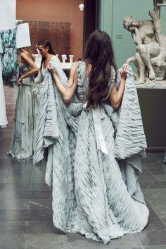 Cecilie Melli, vår 2015 — Pudderprint Fur Coat, Blanket, Pretty, Jackets, Fashion, Down Jackets, Moda, Blankets, Fashion Styles