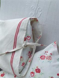 French vintage cushions