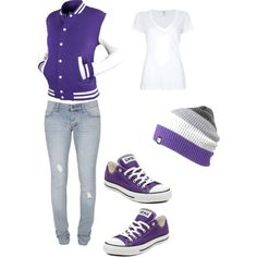 casscollins_ ur purple tour outfit :) - Polyvore