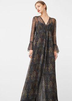 Paisley print dress 59.99 mango
