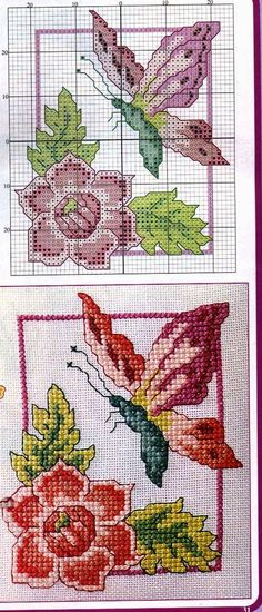 grafico-de-borboletas-2 Borboletas em ponto cruz