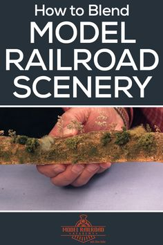 Watch and learn two methods of blending your model railroad layouts and scenery with model railroader expert, Allen Keller. Train Info, Model Training, Ho Model Trains, Hobby Trains, Ho Scale Trains, Model Train Layouts, Model Building, Plastic Models, Scenery