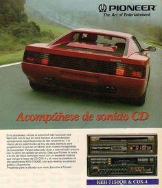 The Art of Entertainment -  PIONEER / Ferrari Car Audio, Ferrari, The Past, Childhood, Entertaining, Type 3, Theater, Vintage, Facebook