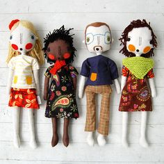 Create a custom order for likeness of you and your besties/family/colleagues/band … Simpli Jessi dolls are entirely hand made. Natural linens, organic cotton stuffing, felt, yarn and recycled fibers are used in every doll - making each one unique and special.