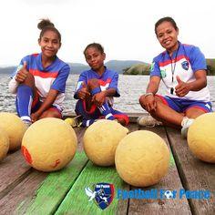 Yakonde Village, District of Waibu.  One of the branch of Uni Papua Football Community in Sentani, Jayapura, Papua