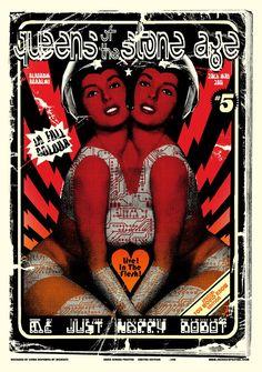 Jacknife Design — Queens of the Stone Age #qotsa poster Glasgow