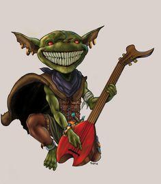 Pathfinder Goblin-RovigoComics2012 by tZuB