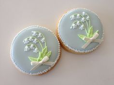 Lily Of The Valley Cookie from Cbonbon Cookies see FB page here:  https://www.facebook.com/Cbonbon-cookies-439917922696894/