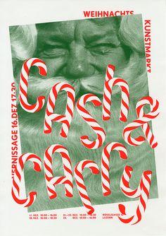 Josh Schaub est un designer graphique basé à Bern en Suisse. Illustration Noel, Christmas Illustration, Graphic Design Illustration, Graphic Design Posters, Graphic Design Inspiration, Typography Design, Lettering, Christmas Graphics, Christmas Ad