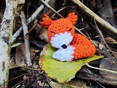 Little Things Blogged: Amigurumi Sleepy Fox (Free pattern)