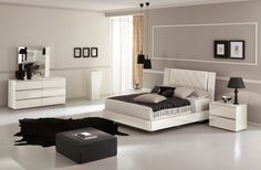Cozy and stylish bedroom for you! Stella Premium Bedroom Set by J&M Furniture | SohoMod.com #sohomod