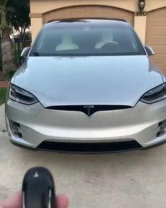 Luxury Sports Cars, Best Luxury Cars, Luxury Suv, Tesla Car Models, Tesla Model X, Tesla Roadster, My Dream Car, Dream Cars, Tesla Video